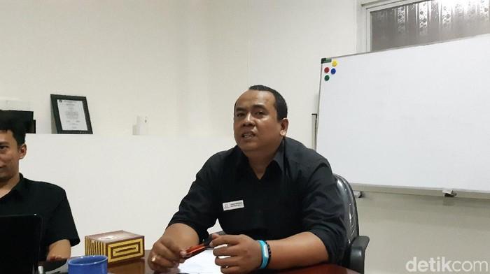 Plt Kepala Perwakilan Ombudsman Banten Teguh P. Nugroho