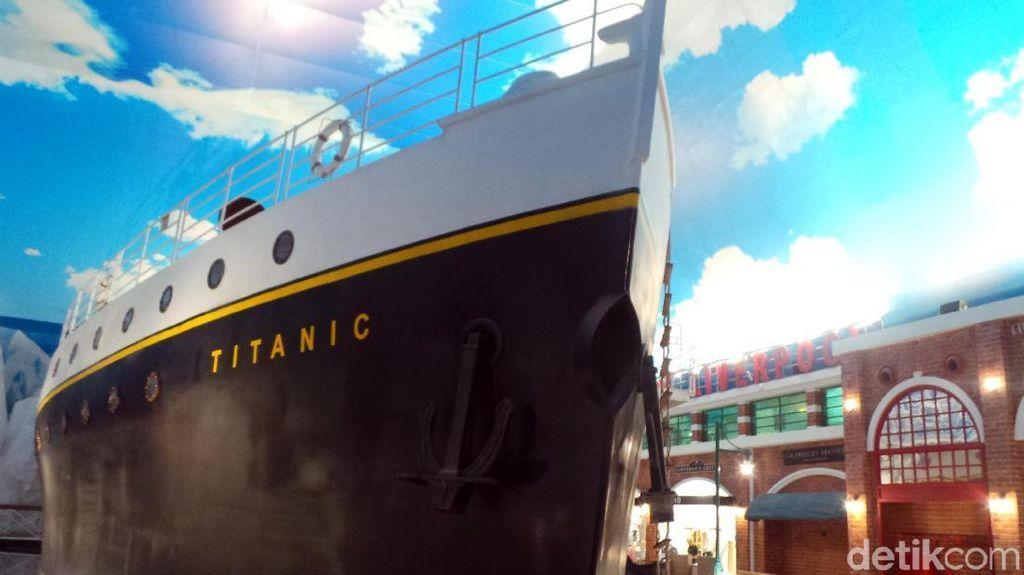 Foto: Cuma di Trans Studio Bali, Ada Kapal Titanic