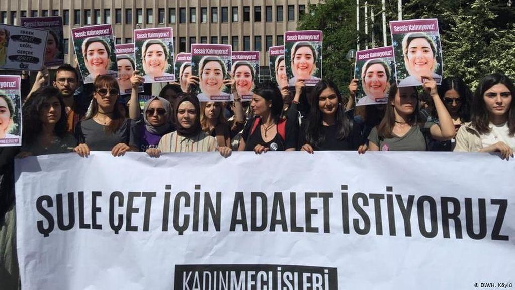 Aktivis Turki Tuntut Pembunuhan Perempuan Ditangani Serius