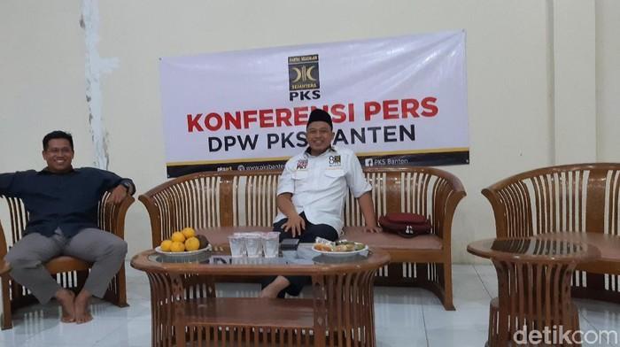 Ketua PKS Banten Sanuji Pentamarta (Bahtiar/detikcom)