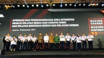 BKKP Kemenhub Raih Penghargaan Zona Integritas dari KemenPAN-RB