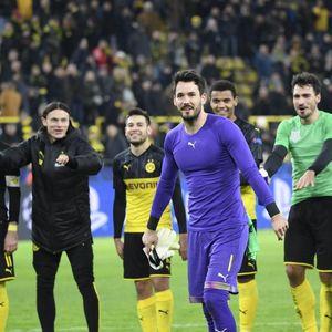 Kalahkan Slavia Praha 2-1, Dortmund Lolos ke 16 Besar