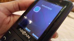 Advan-Indosat Rilis HP Jadul yang Bisa WhatsApp