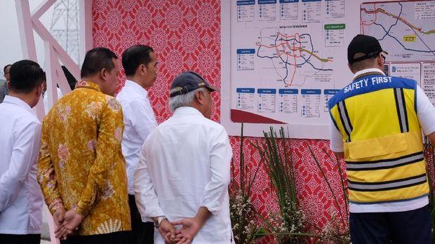 Resmikan Tol Japek Layang, Jokowi Harap Kemacetan Berkurang 30 Persen