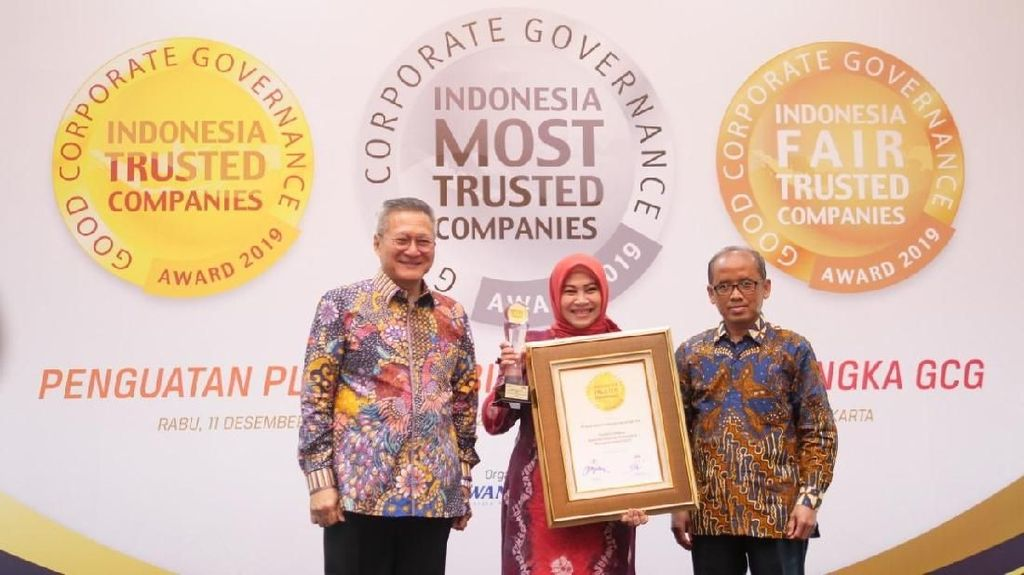 BRI Agro Raih Penghargaan Indonesia Trusted Companies Awards 2019