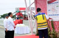 Jokowi Cek Tol Jakarta-Cikampek
