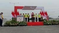 Sah! Jokowi Resmikan Tol Layang Terpanjang RI di Tanggal Cantik