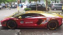 Pengemudi Lamborghini Terbakar Akan Dipanggil Senin Mendatang