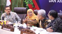 Gubernur Khofifah Jamin Stok Bahan Pokok di Jatim Aman Selama Nataru