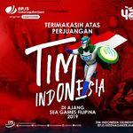 BPJAMSOSTEK Lindungi Atlet Indonesia di Ajang SEA Games Filipina