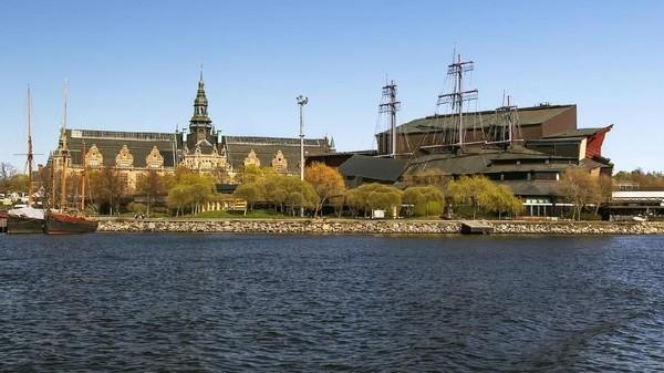 Museum Vasa menyimpan bangkai kapal perang bernama vasa yang tenggelam hampir 400 tahun lalu. Museum ini terletak di Pulau Djurgarden, Stockholm, Swedia. (iStock)