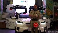 Langkah Anies Sambut Mobil Listrik di Jakarta