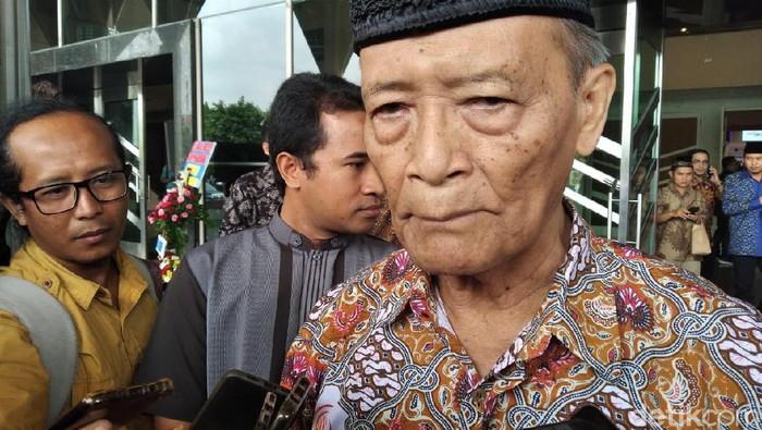 Buya Syafii Maarif di UMY, Kamis (12/12/2019).