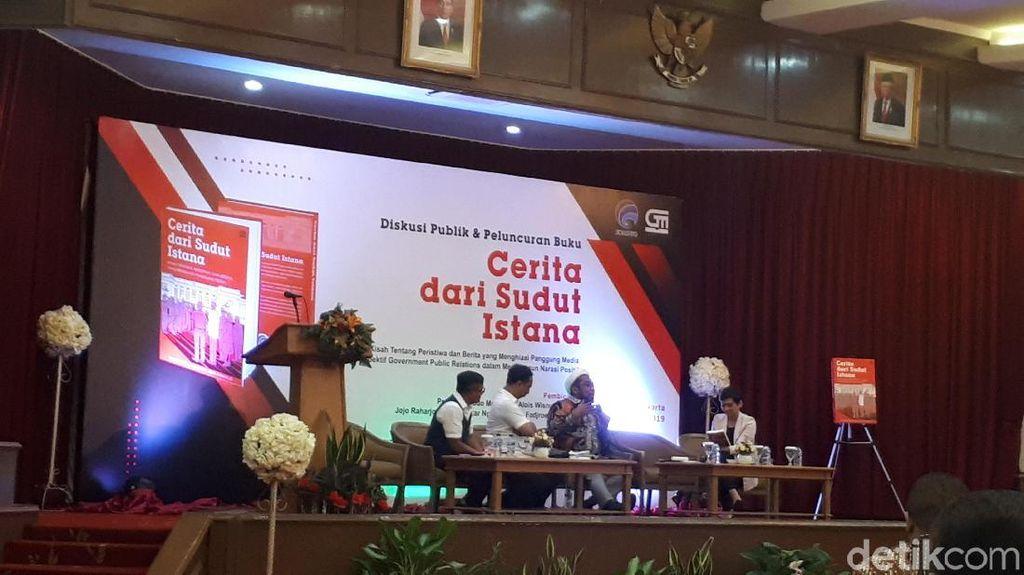 Eks Tenaga Ahli KSP Ungkap Kerja Deputi di Buku Cerita dari Sudut Istana