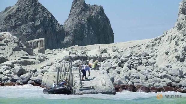 Cerita Penumpang Kapal Pesiar yang Saksikan Gunung Selandia Baru Meletus