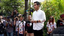 Gibran Daftar Pilwalkot Solo Diantar Ratusan Pendukung
