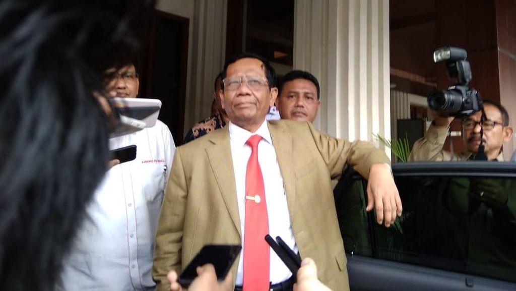 Menhan Korsel Temui Mahfud Md-Prabowo, Bahas Kelanjutan Proyek Jet Tempur