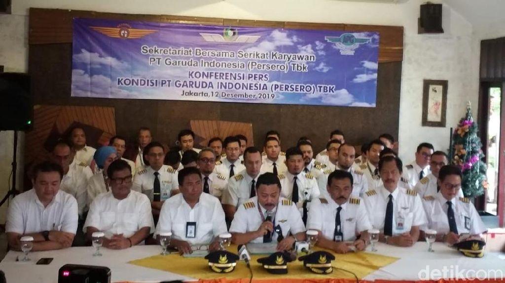 Cerita Kubu Serikat Karyawan Garuda yang Tak Diterima Erick Thohir