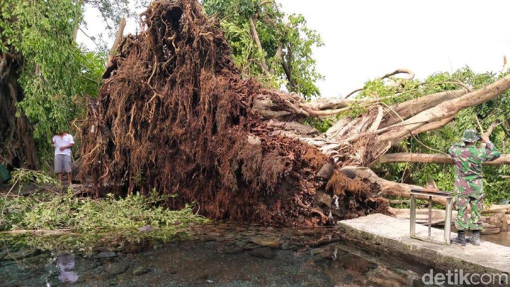 Lisus Sebabkan Kerusakan di Sejumlah Wisata Air Klaten