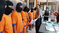 Jelang Nataru, Polisi Kota Probolinggo Ringkus 7 Pengedar Narkoba