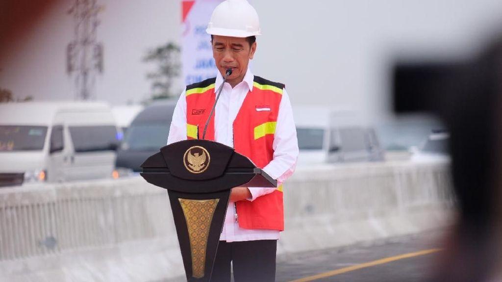 Komentar Jokowi soal Tudingan Germo di Garuda Indonesia