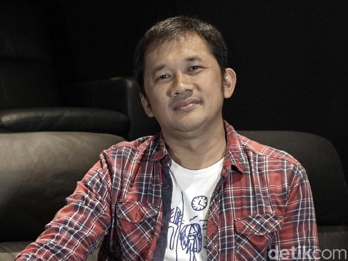Hanung Bramantyo saat ditemui di MD Palace.