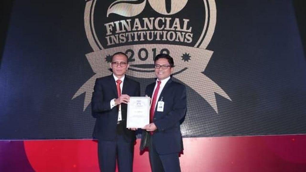 Penghargaan 20 Bank Kinerja Terbaik