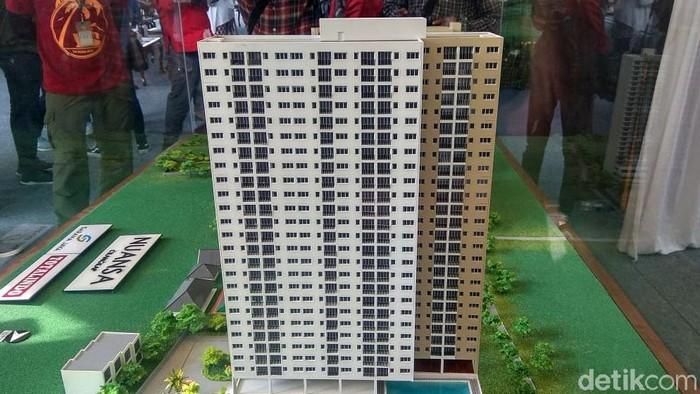 Gubernur DKI Jakarta Anies Baswedan pagi ini groundbreaking rumah DP Rp 0 Nuansa Cilangkap di Cilangkap, Jakarta Timur.