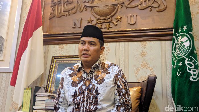 Sekjen Pengurus Besar Nahdlatul Ulama (PBNU) Helmy Faishal Zaini