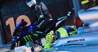 Rossi dan Hamilton Tukar Profesi Sehari.