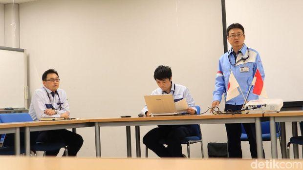 Kunjungan ke Kuki Plant Nippon Signal di Saitama, Jepang