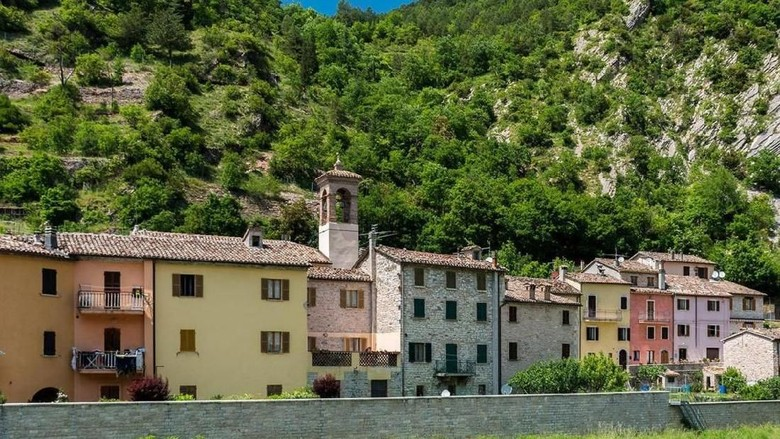 Kota Piobbico, Italia (iStock)