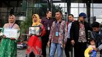 Keluarga Mahasiswa yang Tewas di Kendari Sambangi KPK