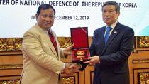 Bertemu Menhan Korsel, Prabowo Harap Bisa Tingkatkan Kerja Sama Pertahanan