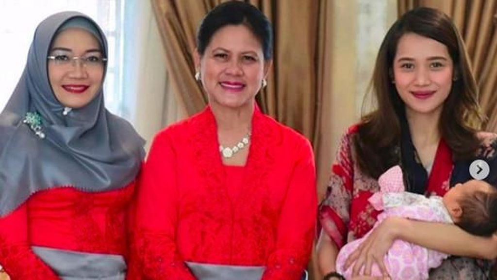 Dijenguk Iriana Jokowi, Kecantikan Gista Putri Jadi Perhatian