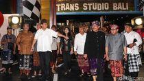 Momen CT Resmikan Trans Studio Bali