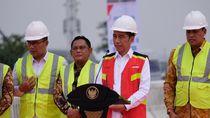 Jalan Tol Jakarta-Cikampek Layang Belum Mulus, Jokowi: Nanti Diperbaiki