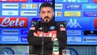Geser Ancelotti, Gattuso: Napoli Berada di Peringkat yang Memalukan