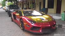 Lamborghini yang Terbakar di Surabaya Ternyata Nunggak Pajak