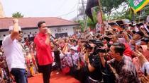 Panggung Berkarpet Merah untuk Gibran di Kantor PDIP Jateng