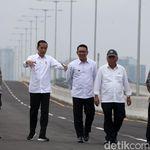 Sudah Diresmikan Jokowi, Kapan Tol Japek Layang Bisa Dilewati?