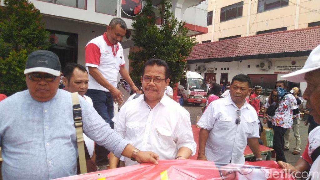 Kader Gerindra Daftar Bacalon Wakil Bupati Klaten Lewat PDIP