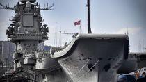 Kapal Induk Satu-satunya Milik Rusia Dilanda Kebakaran, 6 Orang Luka