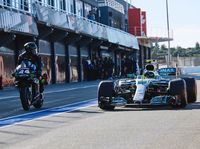 Ketika Valentino Rossi Jadi Pebalap F1 Sehari