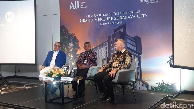 Foto: (Hilda/detikcom) Grand Opening Hotel Grand Mercure Surabaya City