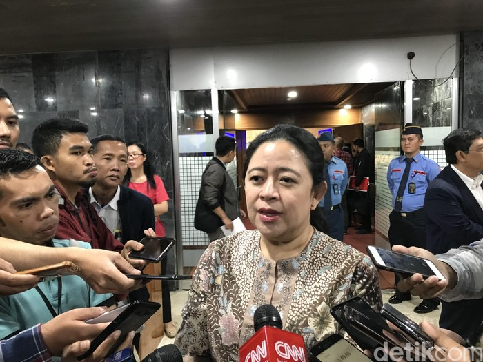 Ketua DPR Puan Maharani (Rolando Fransiscus Sihombing/detikcom)