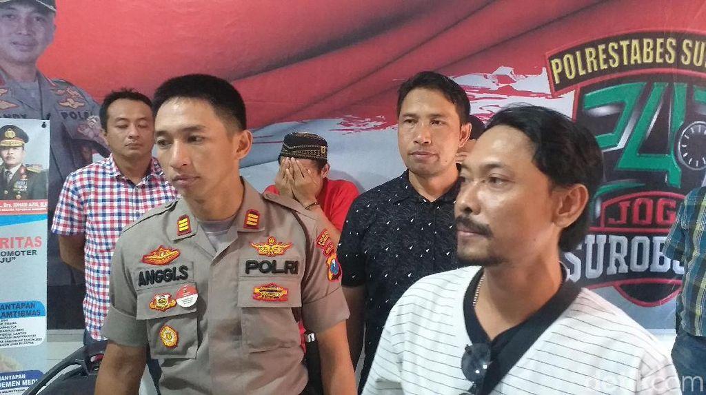2 Pelaku Curanmor Spesialis Kunci Tertinggal Ditangkap di Surabaya