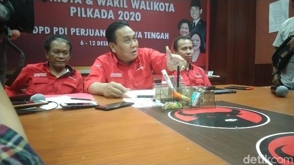 PDIP: Kemungkinan Kami Melawan Kotak Kosong di Semarang dan Wonogiri