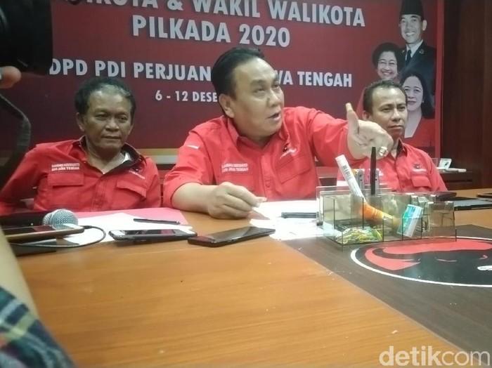 Ketua DPD PDIP Jawa Tengah, Bambang Wuryanto, Kamis (12/12/2019). (Foto: Angling Adhitya Purbaya/detikcom)