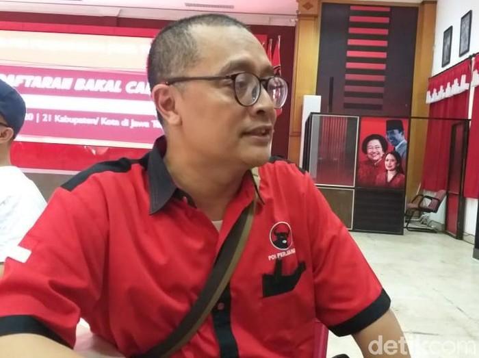 Anggota DPRD Surakarta, Ginda Ferachtriawan, Kamis (12/12/2019). (Foto: Angling Adhitya Purbaya/detikcom)